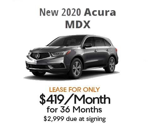 New 2020 Acura MDX Base