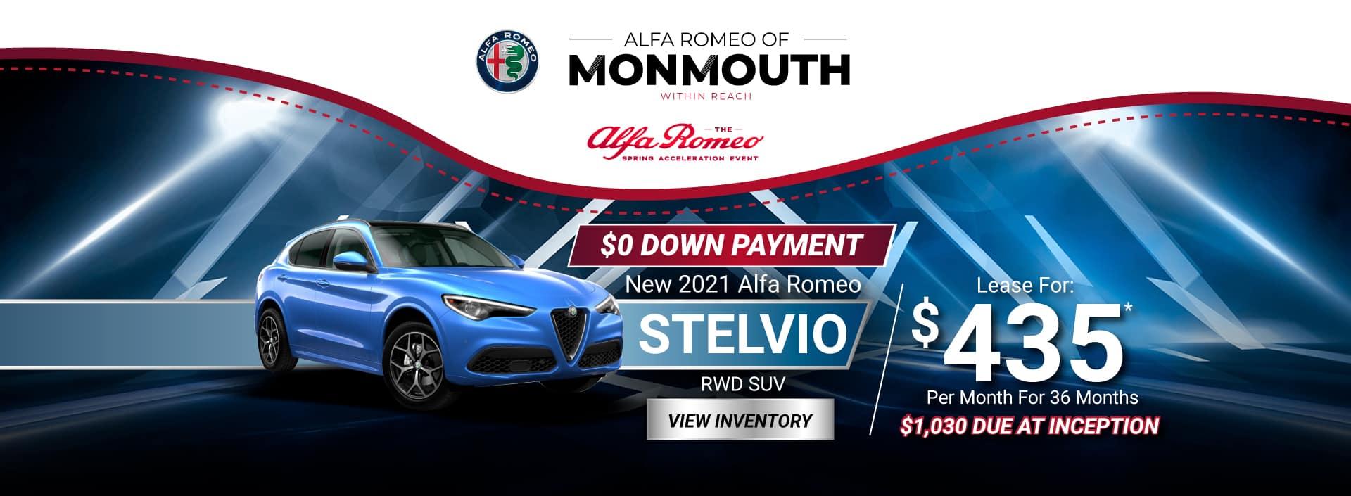New 2021 Alfa Romeo Stelvio