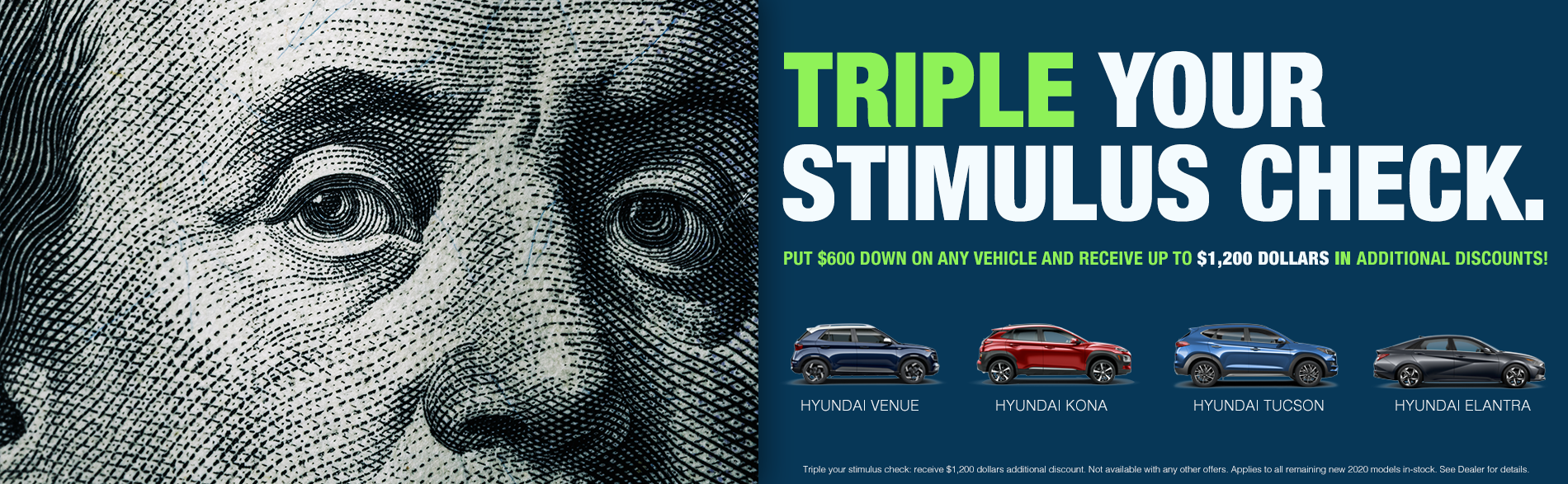Triple Your Stimulus