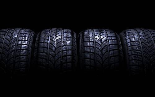 4 car tires