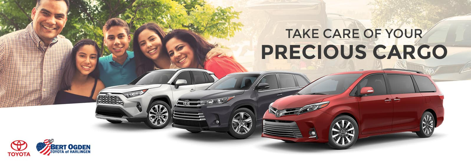 Toyota Models for Large Families | Bert Ogden Toyota | Harlingen, TX