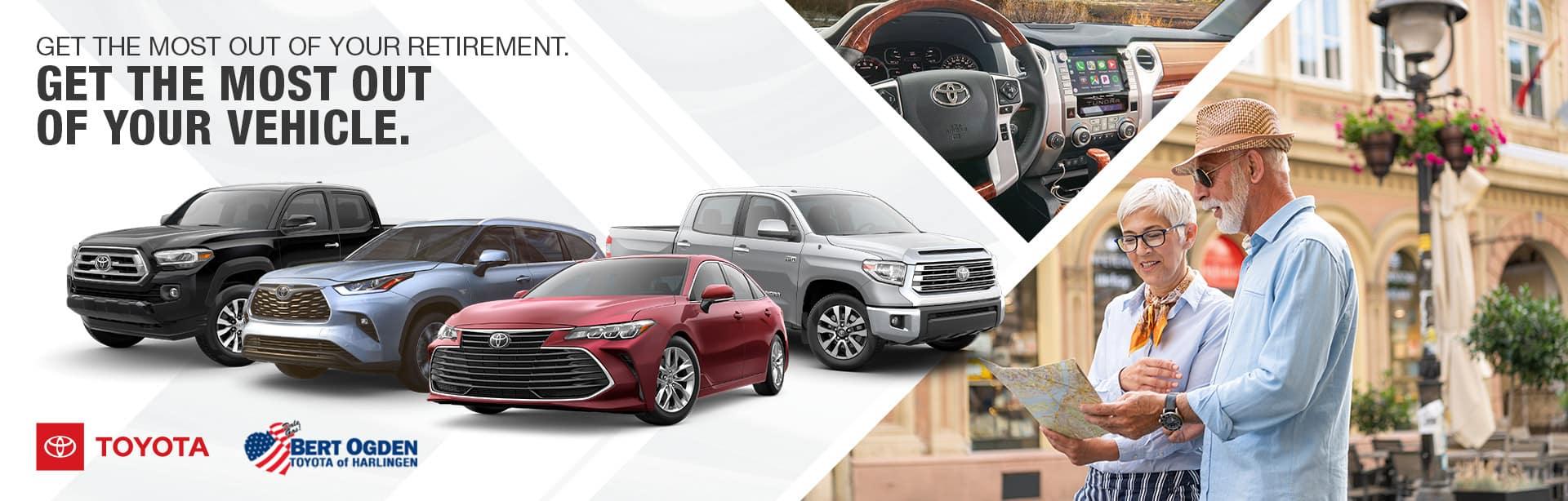 Toyota Models for Winter Texans | Bert Ogden Toyota | Harlingen, TX