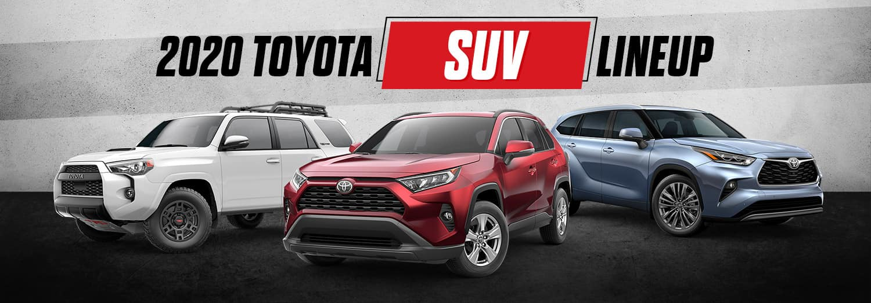 2020 Toyota SUV Lineup   Bert Ogden Toyota   Harlingen, TX