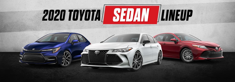 2020 Toyota Sedan Lineup | Bert Ogden Toyota | Harlingen, TX