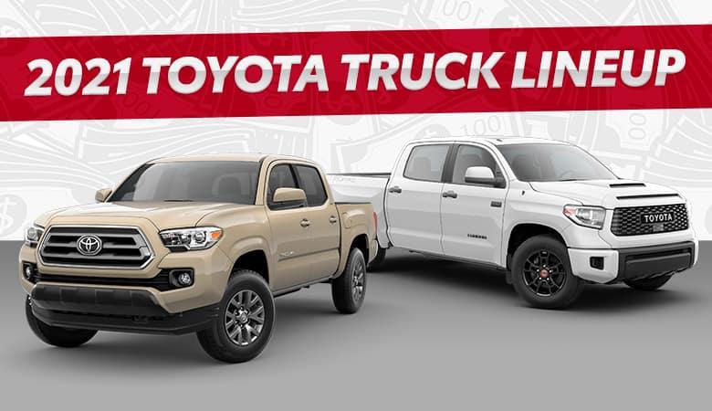 2021 Toyota Truck Lineup | Bert Ogden Toyota | Harlingen, TX