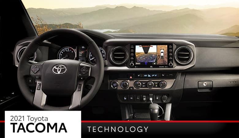2021 Toyota Tacoma Technology | Bert Ogden Toyota | Harlingen, TX