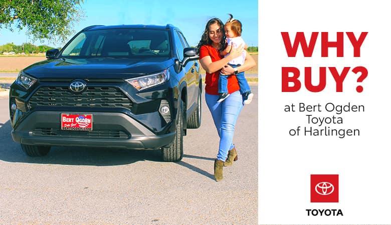 Why Buy at Bert Ogden Toyota in Harlingen, TX