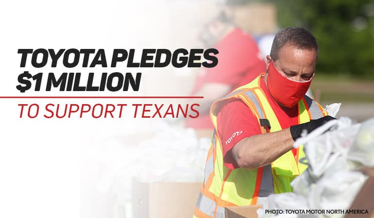 Toyota Pledges $1 Million to Help Texas Families | Bert Ogden Toyota | Harlingen, TX