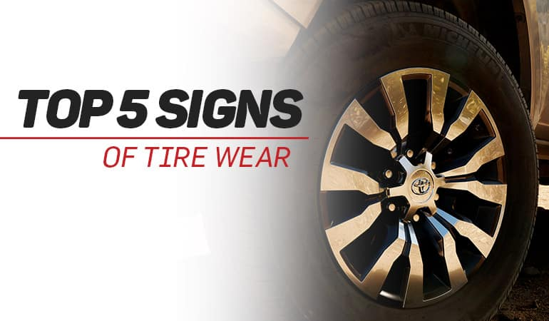 Top 5 Signs of Tire Wear | Bert Ogden Toyota | Harlingen, TX