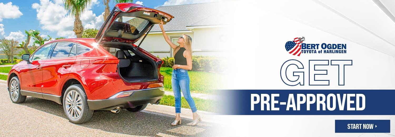 Get Pre-Approved | Bert Ogden Toyota in Harlingen, Texas