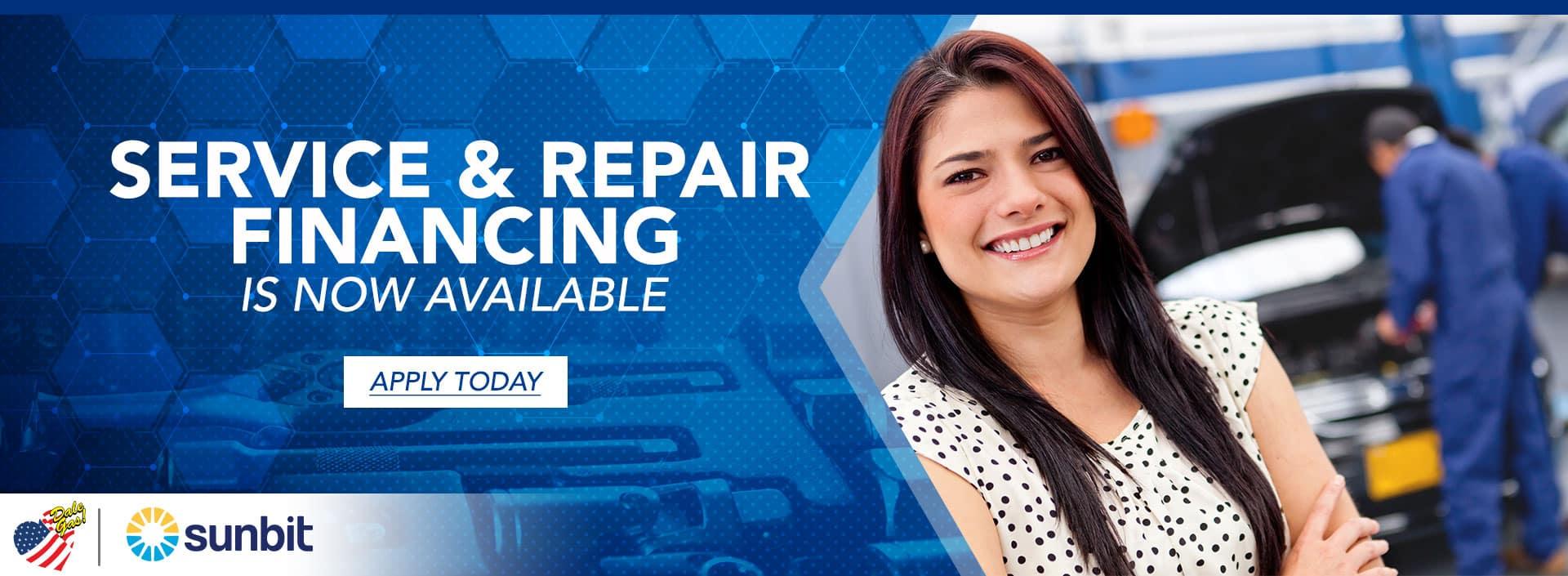 Service Financing | Harlingen, TX