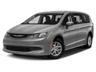 Angled view of the Chrysler Pacifica