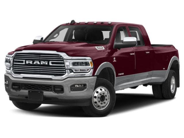 2020 Ram 3500 Laramie red