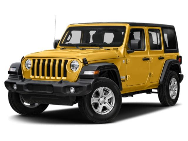 2021 Jeep Wrangler in Yellow