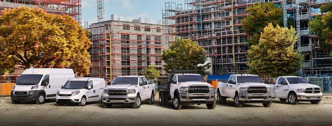 Ram Commercial lineup