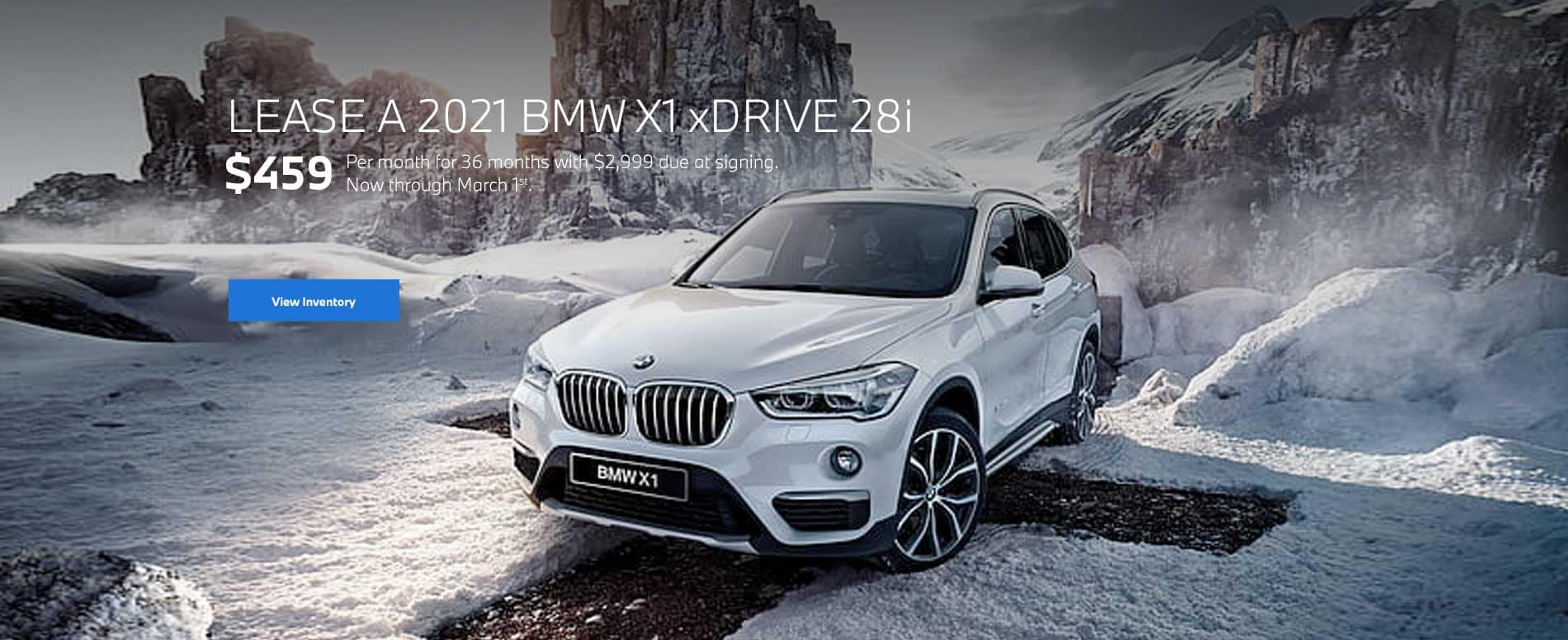 2021 BMW X1 Lease