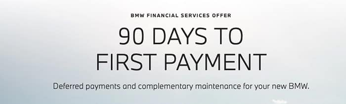 90 DAYS TO FIRST PAYMENT