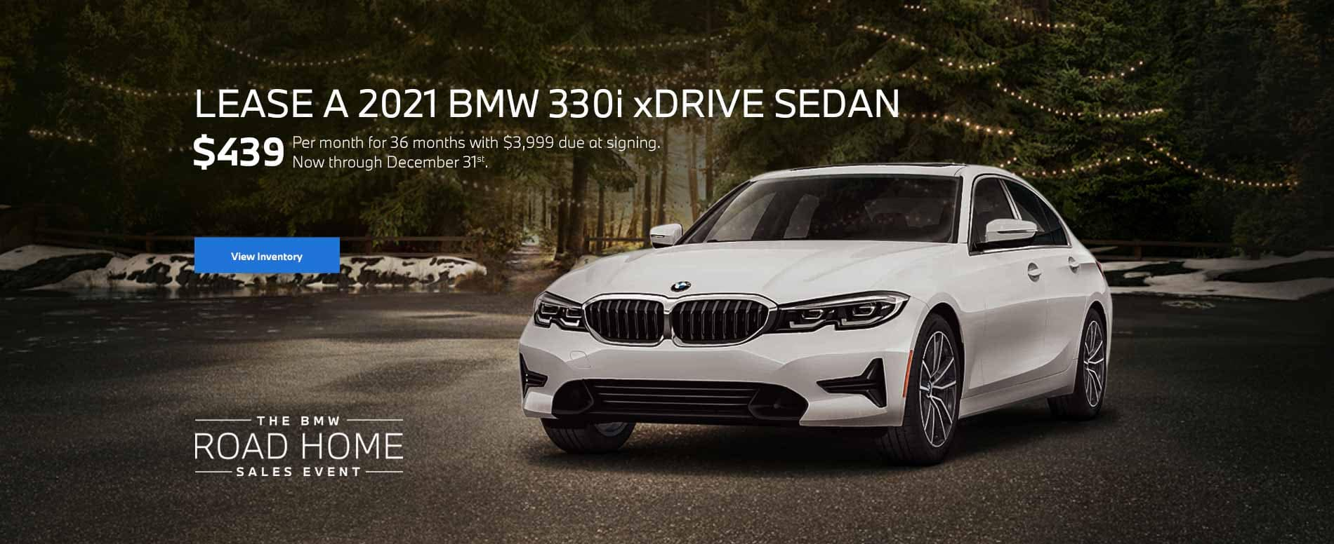 December BMW 3 Series Lease Special