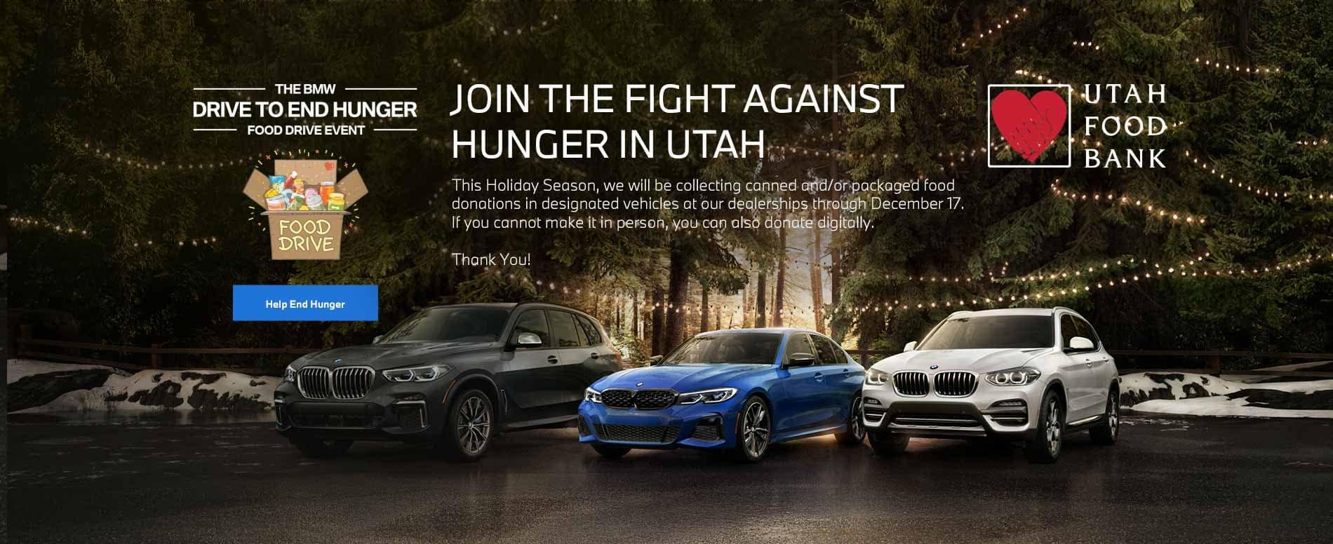 BMW Food Drive