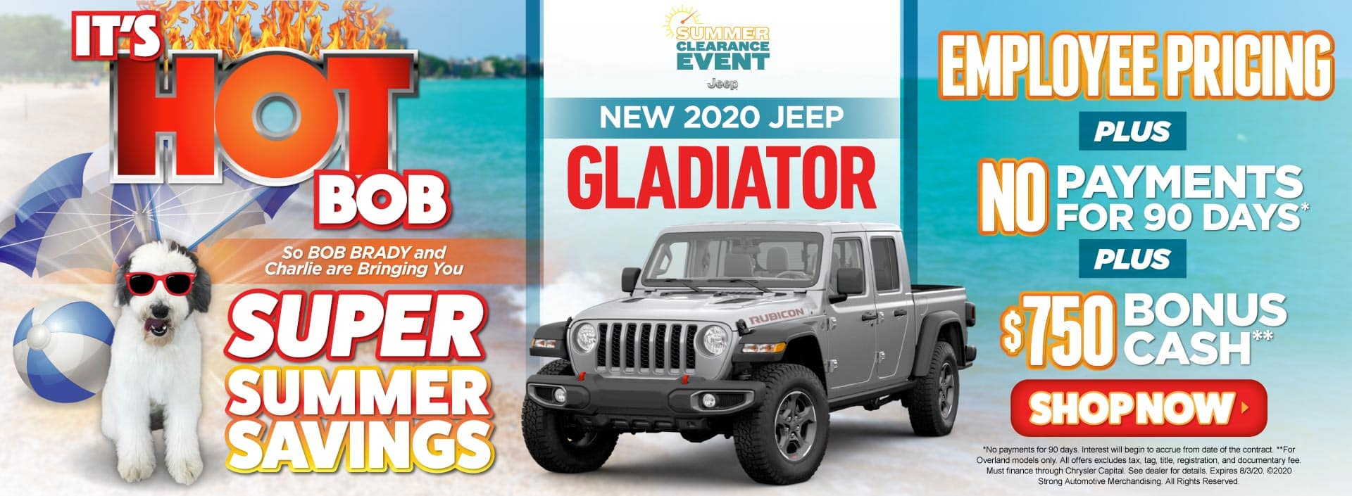 New 2020 Jeep Gladiator Employee Pricing plus No Payments - ACT NOW