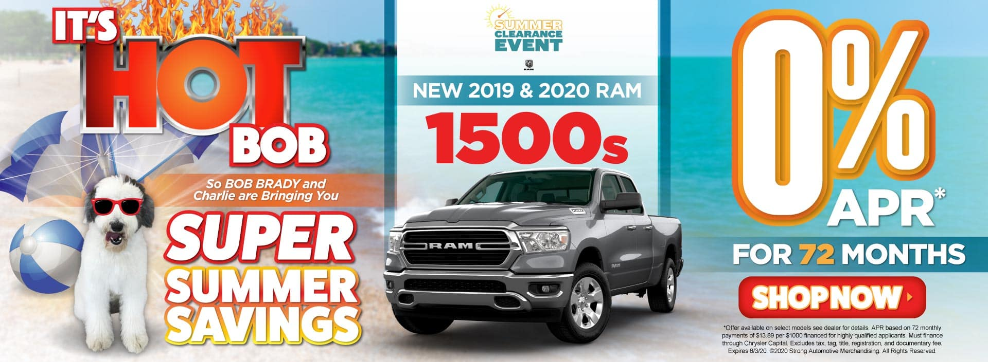 New 2019 & 2020 RAM 1500 0% APR for 72 Months - ACT NOW