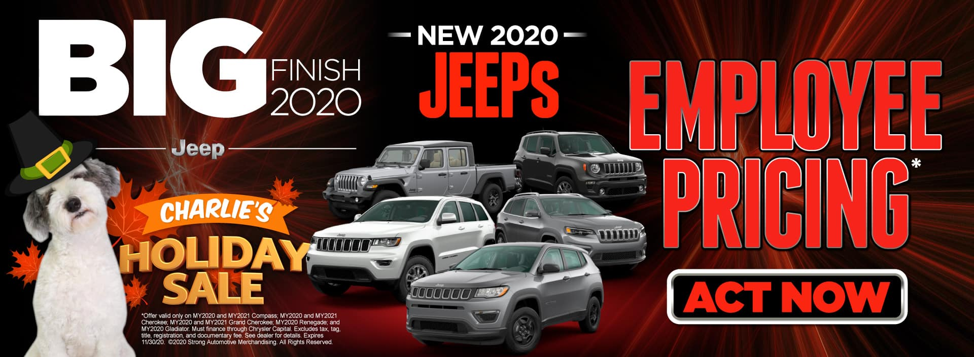 Employee Pricing on Select Jeeps | Act Now