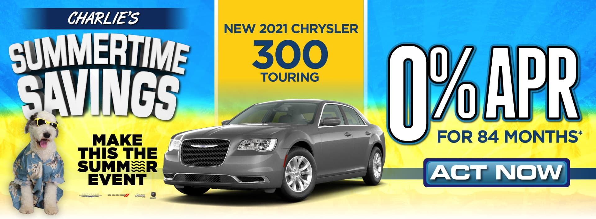 New 2021 Chrysler 300 - 0% APR - Act now