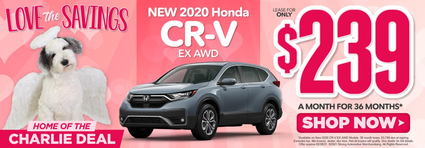 New 2020 Honda CR-V $239/mo - ACT NOW