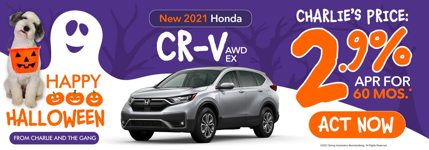 New 2021 Honda CR-V - 2.9% APR for 60 months - Act Now
