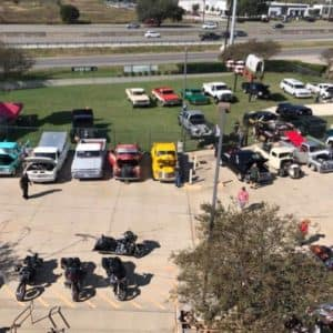 Cowboy Harley Davidson Party With Us Pic Trucks and Bikes Aerial
