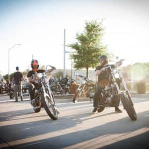 Cowboy Harley Davidson Party With Us Pic Guys on Bikes