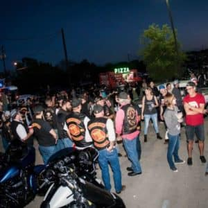 Cowboy Harley Davidson Party With Us Pic Group of People