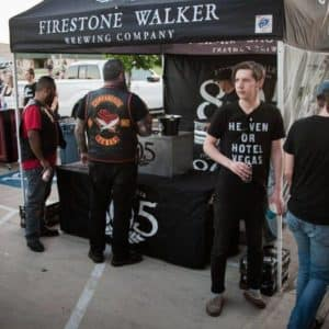 Cowboy Harley Davidson Party With Us Pic Firestone Walker stand