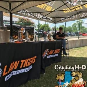 Cowboy Harley Davidson Party With Us Pic Law Tigers Stand