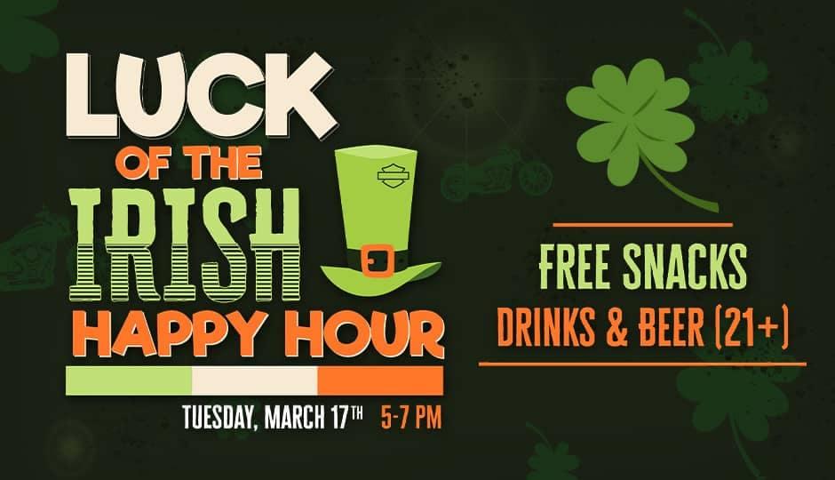Luck of the Irish Happy Hour