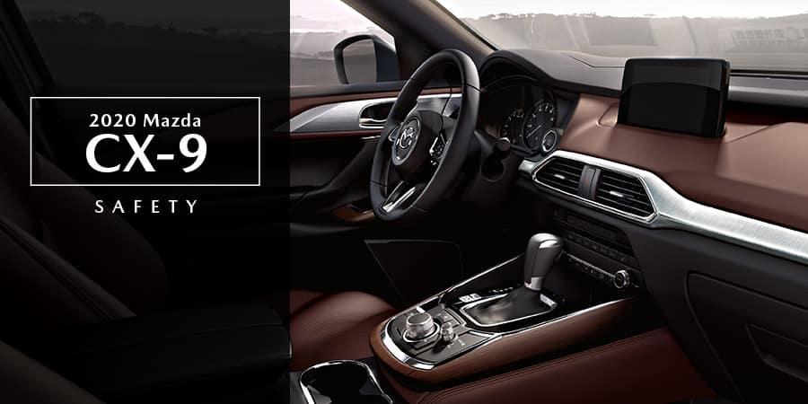 The interior of the 2020 Mazda CX-9 - El Dorado Mazda in McKinney, TX