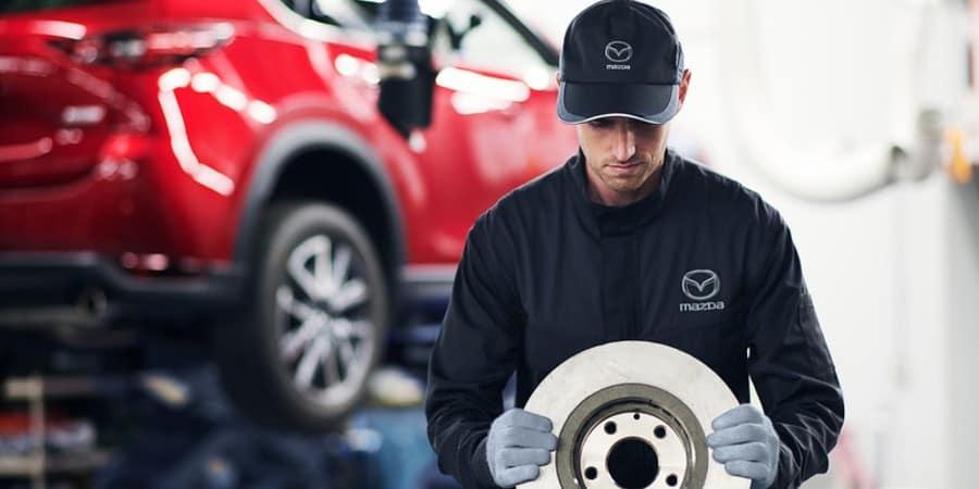A Mazda service professional - El Dorado Mazda in McKinney, TX