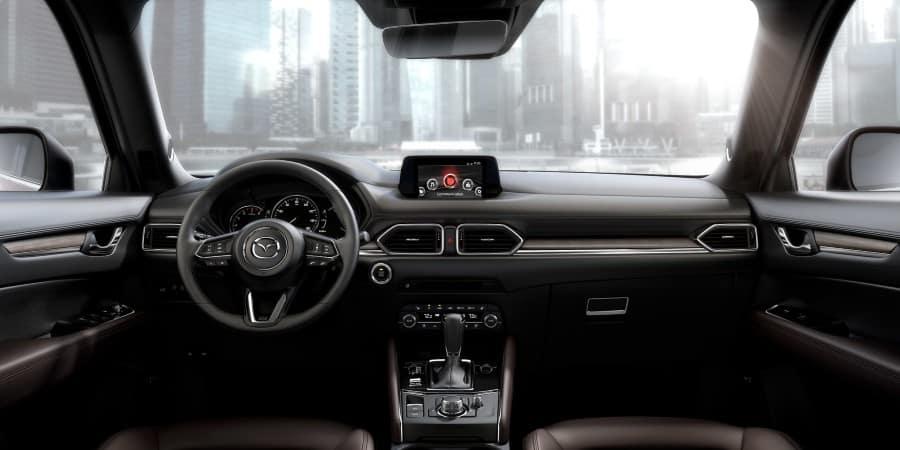 The interior of the 2020 Mazda CX-5 - El Dorado Mazda in McKinney, TX