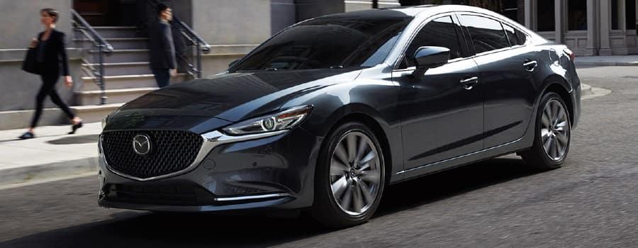 A gray 2021 Mazda6 - El Dorado Mazda in McKinney, TX