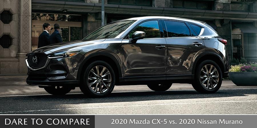 2020 Mazda CX-5 vs. 2020 Nissan Murano  - El Dorado Mazda in McKinney, Texas