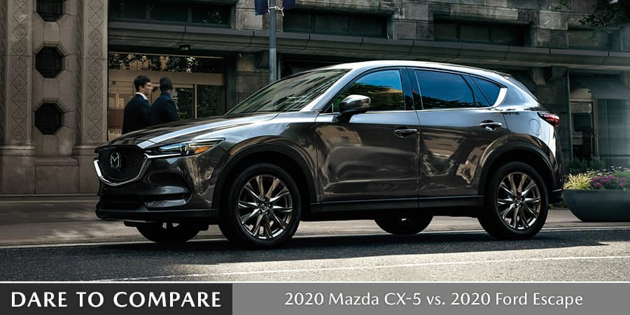 2020 Mazda CX-5 vs. 2020 Ford Escape - El Dorado Mazda in McKinney, Texas