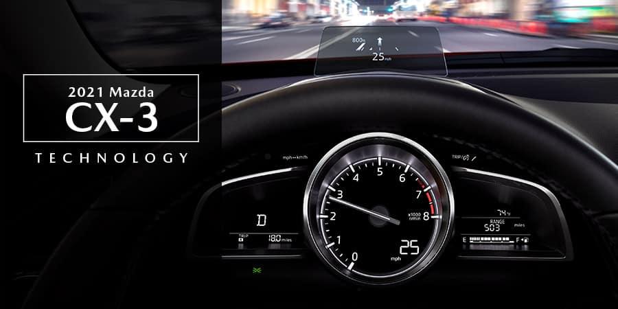 2021 Mazda CX-3 Technology - El Dorado Mazda in McKinney, Texas