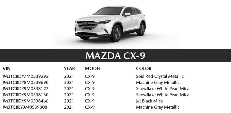 Mazda CX-9 | El Dorado Mazda in McKinney, Texas