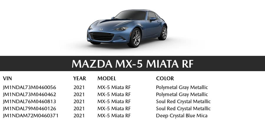 Mazda MX-5 Miata RF | El Dorado Mazda in McKinney, Texas