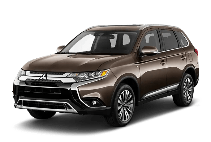 2020 Mitsubishi Outlander Brown