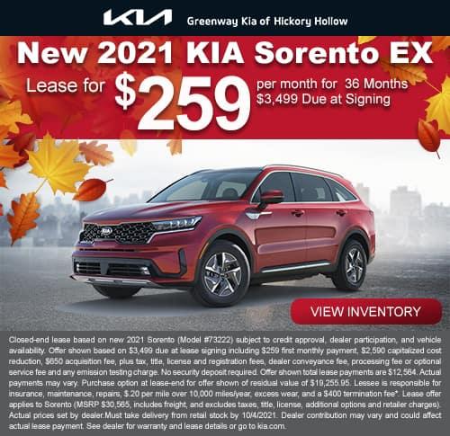 New 2021 Kia Sorento