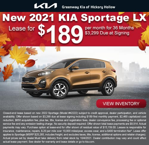 New 2022 Kia Sportage LX