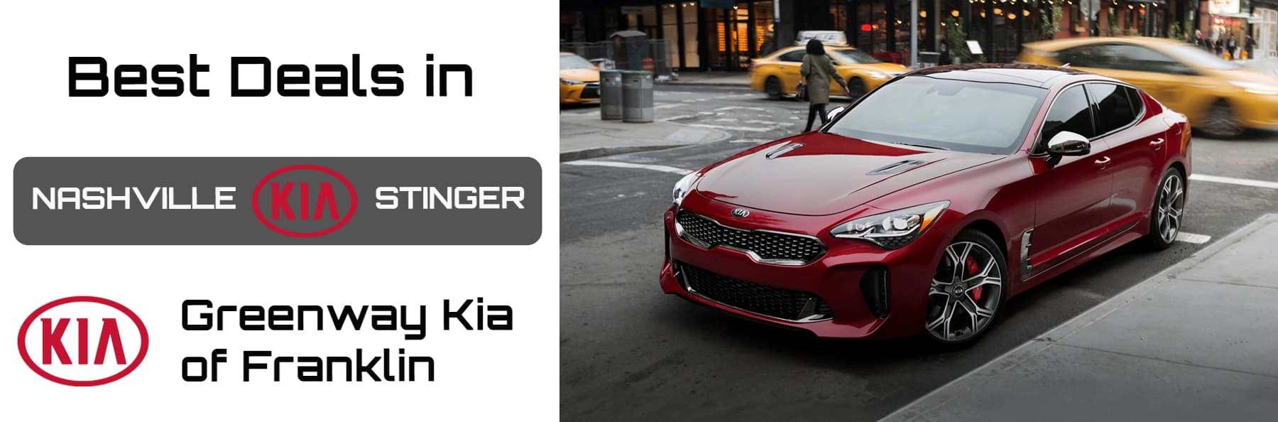Kia Stinger in NASHVILLE Best DEALERSHIP NEAR ME