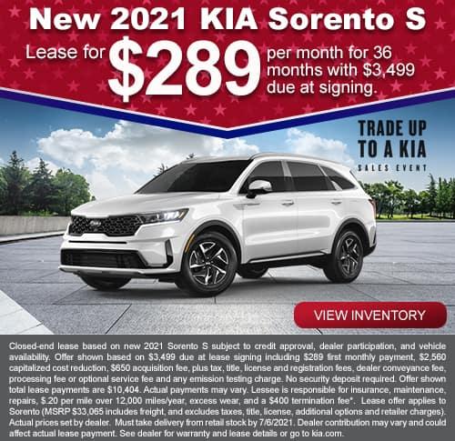 Kia Sorento May Special
