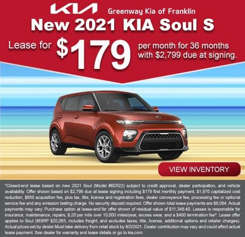 Kia Soul July Special